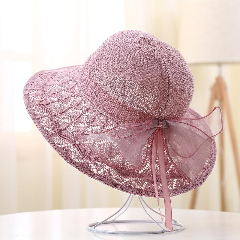 Damene ' Vakkert/Nydelig Bomull Strand / Sol Hatter