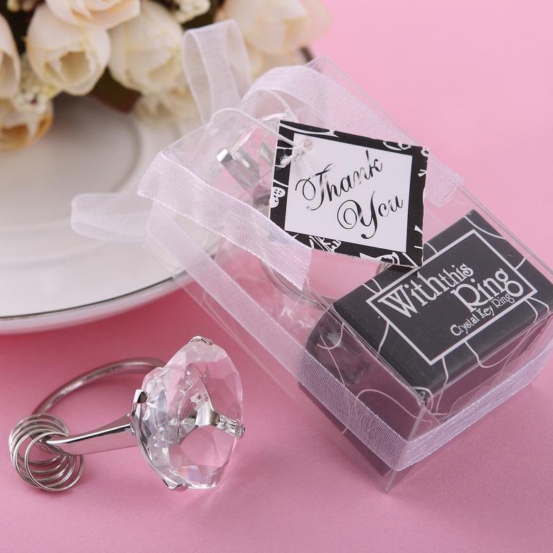 Krystall Diamond Nøkkelringer