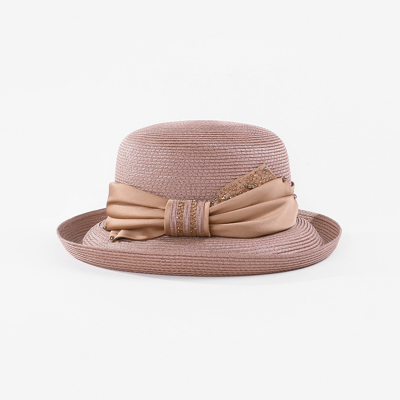 Damene ' Nydelig/Sjarm Polyester med Bowknot Stiv / Cloche Hatt