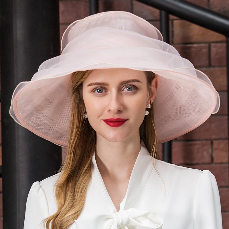 Damene ' Spesielle Organza Diskett Hatt/Kentucky Derby Hatter/Tea Party Hats