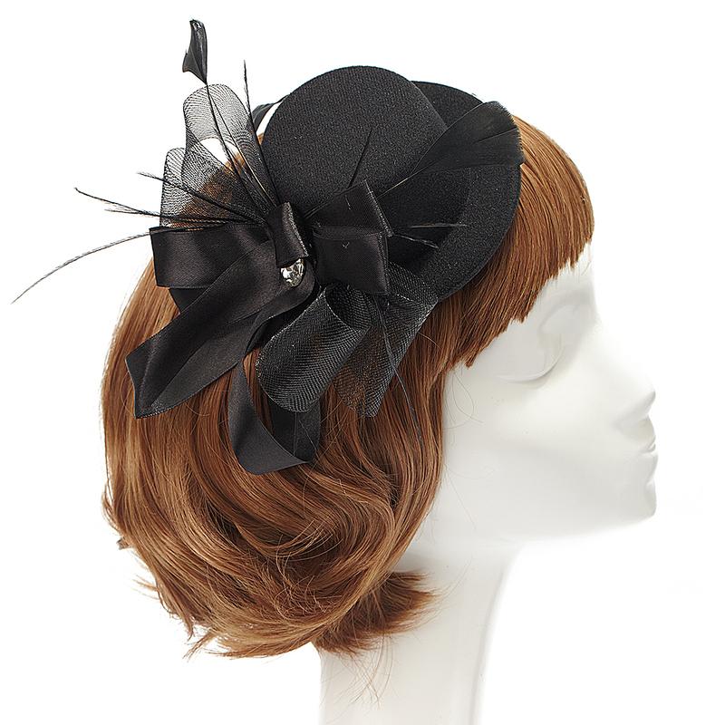Ladies' Elegant Feather Fascinators