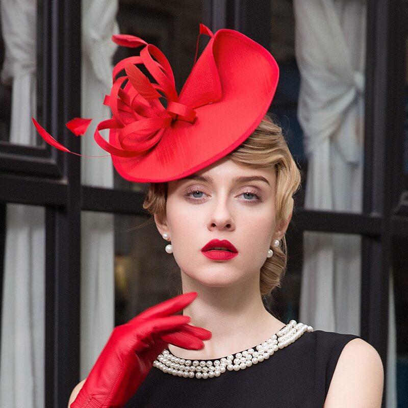 Damene ' Elegant Cambric Fascinators/Tea Party Hats