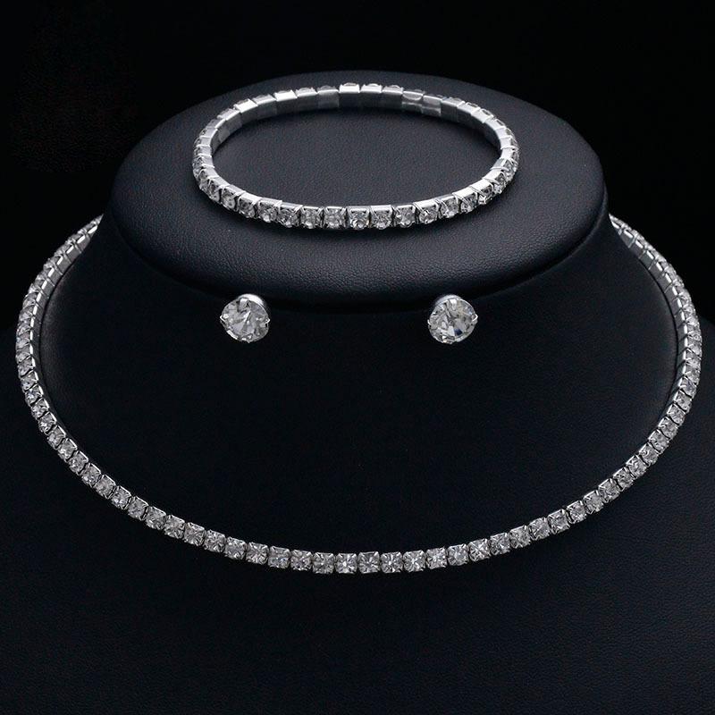 Elegant Legering/Rhinestones med Rhinestone Damene ' Smykker Sett