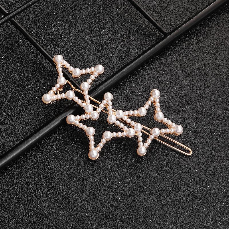 Klassisk stil Imitert Perle Hårnåler (Selges i ett stykke)