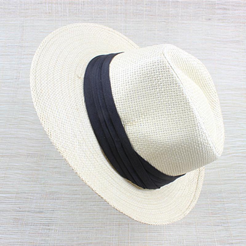 Unisexmodell Mote Rotting Strå Stråhatt/Panama Hat/Kentucky Derby Hatter