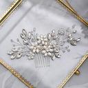 Ladies/Kids Beautiful Crystal/Rhinestone/Imitation Pearls Combs & Barrettes With Rhinestone/Venetian Pearl/Imitation Crystal (Sold in single piece)