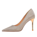 Women's PU Stiletto Heel Pumps With Others shoes