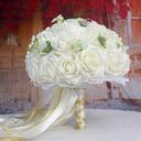 Satin Bridal Bouquets/Bridesmaid Bouquets -