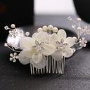 Ladies Elegant Alloy/Imitation Pearls/Silk Flower Combs & Barrettes