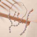 Damene ' Pen Legering/Rhinestones Smykker Sett