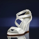Women's Silk Like Satin Wedge Heel Sandals Wedges