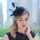 Damene ' Vakkert Fjær Kentucky Derby Hatter