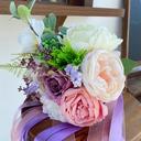 Klassisk stil Hånd Bundet Imitert Perle/Kunstige Blomster Brude Buketter (som selges i et enkelt stykke) - Brude Buketter