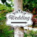 Attractive Simple/Classic Wooden Wedding Sign