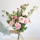 Enkel/Blomsten Designet Nydelig Plast/Klut Kunstige Blomster (sett av 4)