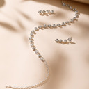 Damene ' fasjonable Legering/Rhinestones Smykker Sett