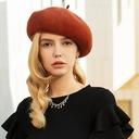 Damene ' Glamorøse/Romantisk/vintage stil Ull Baqueira Hatt