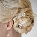 Ladies Lovely Alloy/Imitation Pearls Hairpins (Set of 2)