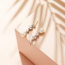 Ikke-personlig Damene ' Elegant Zirkon/Imitert Perle øredobber For Henne
