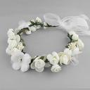 Nydelig Silke blomst Pannebånd (Selges i ett stykke)