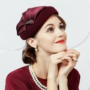Damene ' Glamorøse Ull med Silke blomst Fascinators/Tea Party Hats