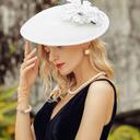 Damene ' Vakkert Polyester Kentucky Derby Hatter