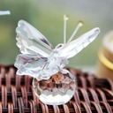 Butterfly Crystal Minnesmerke med Bånd