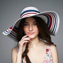 Damene ' Nydelig/Elegant/Utsøkt Polyester Diskett Hatt