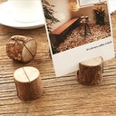 Tree Design Round Wooden Place Cards/Decorative Accessories (set of 10)