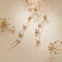 Damene ' Elegant Legering/Perle Perle øredobber
