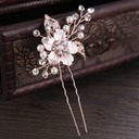 Ladies Pretty Rhinestone/Alloy/Imitation Pearls Hairpins With Rhinestone