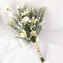 Free-Form Silk/Cloth Bridesmaid Bouquets -
