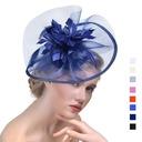 Damene ' Elegant Cambric med Fjær Fascinators/Tea Party Hats