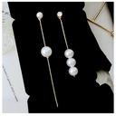 Ladies' Beautiful Alloy/Pearl Earrings