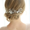 Elegant Rhinestone Hairpins With Rhinestone (Set of 3)
