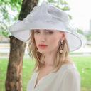 Damene ' Vakkert Organza Kentucky Derby Hatter