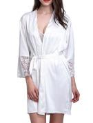 Silk Bride Bridesmaid Blank Robes
