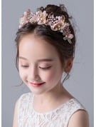 Alloy With Flower/Sequin Headbands
