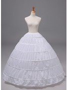 Women Polyester 1 Tiers Petticoats