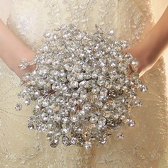Beautiful Butterfly Free-Form Crystal Bridal Bouquets (Sold in a single piece) - Bridal Bouquets