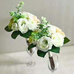 Blomstringen Fri Form Silke/Klut Brudepike Buketter -
