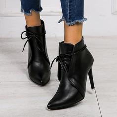 Women's PU Stiletto Heel Pumps With Split Joint shoes
