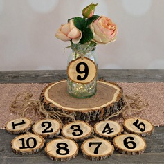 Classic Wooden Table Number Cards  (051179166)
