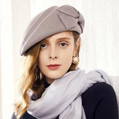 Damene ' Iøynefallende/Fin/Sjarm/Romantisk Ull Baqueira Hatt