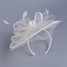 Damene ' Nydelig Cambric med Fjær Fascinators/Kentucky Derby Hatter