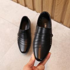 Closed Toe Low Heel Flower Girl Shoes