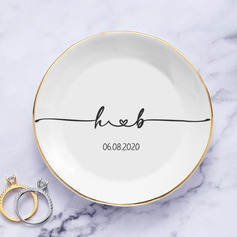 Simple/Classic/Delicate/Personalized Ceramic Ring Dish