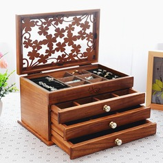 Bride Gifts - Vintage Wooden Jewelry Box (255183259)