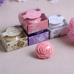 Lovely Rose Soaps With Print