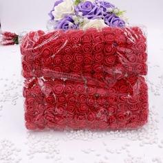 140PCS Styrofoam Rose DIY Accessories Artificial Flowers